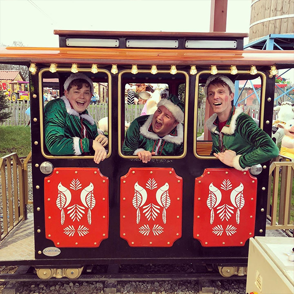 Polar Express Train ride & special guest!