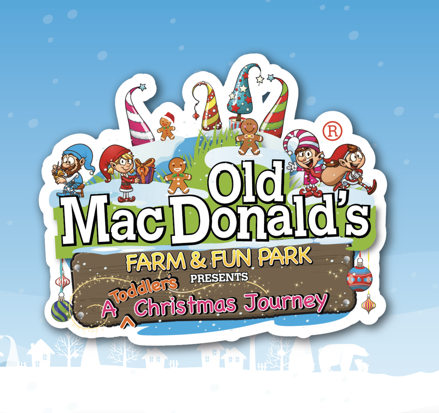A Toddler's Christmas Journey at OMD Farm is FREE!